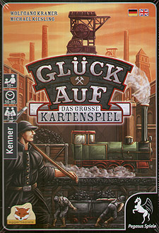 Spirit Games (Est. 1984) - Supplying role playing games (RPG), wargames rules, miniatures and scenery, new and traditional board and card games for the last 20 years sells Gluck Auf (Coal Baron): The Great Card Game