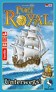 Spirit Games (Est. 1984) - Supplying role playing games (RPG), wargames rules, miniatures and scenery, new and traditional board and card games for the last 20 years sells Port Royal: Unterwegs!