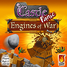 Spirit Games (Est. 1984) - Supplying role playing games (RPG), wargames rules, miniatures and scenery, new and traditional board and card games for the last 20 years sells Castle Panic: Engines of War