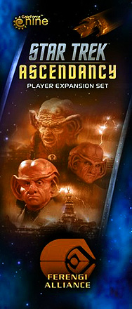 Spirit Games (Est. 1984) - Supplying role playing games (RPG), wargames rules, miniatures and scenery, new and traditional board and card games for the last 20 years sells Star Trek: Ascendancy - Ferengi Alliance Expansion