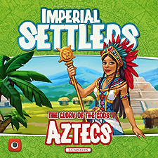 Spirit Games (Est. 1984) - Supplying role playing games (RPG), wargames rules, miniatures and scenery, new and traditional board and card games for the last 20 years sells Imperial Settlers: Aztecs Expansion