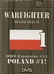 Spirit Games (Est. 1984) - Supplying role playing games (RPG), wargames rules, miniatures and scenery, new and traditional board and card games for the last 20 years sells Warfighter: WWII Expansion #11  Poland #1