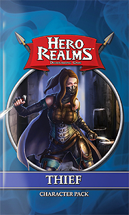 Spirit Games (Est. 1984) - Supplying role playing games (RPG), wargames rules, miniatures and scenery, new and traditional board and card games for the last 20 years sells Hero Realms Deckbuilding Game: Thief Character Pack
