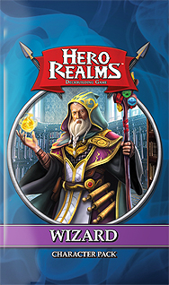 Spirit Games (Est. 1984) - Supplying role playing games (RPG), wargames rules, miniatures and scenery, new and traditional board and card games for the last 20 years sells Hero Realms Deckbuilding Game: Wizard Character Pack