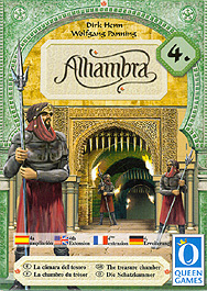 Spirit Games (Est. 1984) - Supplying role playing games (RPG), wargames rules, miniatures and scenery, new and traditional board and card games for the last 20 years sells Alhambra: 4th Extension