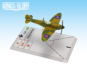 Spirit Games (Est. 1984) - Supplying role playing games (RPG), wargames rules, miniatures and scenery, new and traditional board and card games for the last 20 years sells Wings of Glory WWII: Supermarine Spitfire Mk.I Squadron Pack