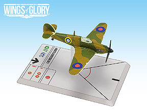 Spirit Games (Est. 1984) - Supplying role playing games (RPG), wargames rules, miniatures and scenery, new and traditional board and card games for the last 20 years sells Wings of Glory WWII: Hawker Hurricane Mk. I Squadron Pack