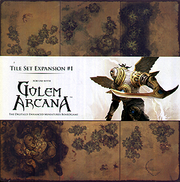 Spirit Games (Est. 1984) - Supplying role playing games (RPG), wargames rules, miniatures and scenery, new and traditional board and card games for the last 20 years sells Golem Arcana: Tile Set Expansion #1
