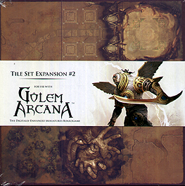 Spirit Games (Est. 1984) - Supplying role playing games (RPG), wargames rules, miniatures and scenery, new and traditional board and card games for the last 20 years sells Golem Arcana: Tile Set Expansion #2