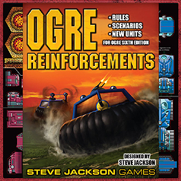 Spirit Games (Est. 1984) - Supplying role playing games (RPG), wargames rules, miniatures and scenery, new and traditional board and card games for the last 20 years sells Ogre Reinforcements