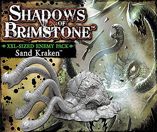 Spirit Games (Est. 1984) - Supplying role playing games (RPG), wargames rules, miniatures and scenery, new and traditional board and card games for the last 20 years sells Shadows of Brimstone: Sand Kraken XXL Enemy Pack