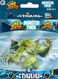 Spirit Games (Est. 1984) - Supplying role playing games (RPG), wargames rules, miniatures and scenery, new and traditional board and card games for the last 20 years sells King of Tokyo/New York Monster Pack 01 Cthulhu