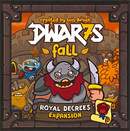 Spirit Games (Est. 1984) - Supplying role playing games (RPG), wargames rules, miniatures and scenery, new and traditional board and card games for the last 20 years sells Dwar7s Fall (Dwarves Fall): Royal Decrees Expansion