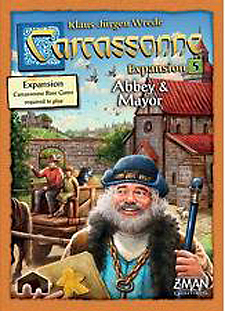 Spirit Games (Est. 1984) - Supplying role playing games (RPG), wargames rules, miniatures and scenery, new and traditional board and card games for the last 20 years sells Carcassonne Expansion 5: Abbey and Mayor