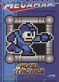 Spirit Games (Est. 1984) - Supplying role playing games (RPG), wargames rules, miniatures and scenery, new and traditional board and card games for the last 20 years sells Megaman Pixel Tactics: Mega Man Blue