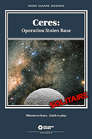 Spirit Games (Est. 1984) - Supplying role playing games (RPG), wargames rules, miniatures and scenery, new and traditional board and card games for the last 20 years sells Ceres: Operation Stolen Base<br>Mini Games Series (Ziplock)