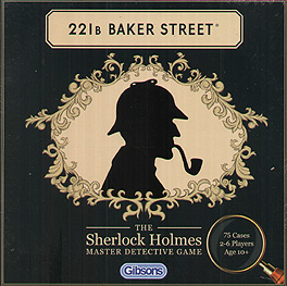 Spirit Games (Est. 1984) - Supplying role playing games (RPG), wargames rules, miniatures and scenery, new and traditional board and card games for the last 20 years sells 221b Baker Street: Sherlock Holmes