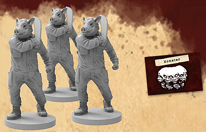 Spirit Games (Est. 1984) - Supplying role playing games (RPG), wargames rules, miniatures and scenery, new and traditional board and card games for the last 20 years sells Lobotomy: Three Little Pigs