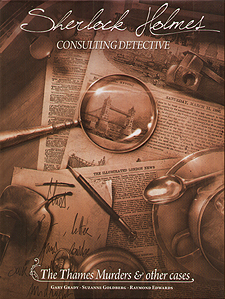 Spirit Games (Est. 1984) - Supplying role playing games (RPG), wargames rules, miniatures and scenery, new and traditional board and card games for the last 20 years sells Sherlock Holmes Consulting Detective: The Thames Murders and Other Cases