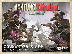 Spirit Games (Est. 1984) - Supplying role playing games (RPG), wargames rules, miniatures and scenery, new and traditional board and card games for the last 20 years sells Achtung! Cthulhu Skirmish: Commander