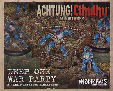 Spirit Games (Est. 1984) - Supplying role playing games (RPG), wargames rules, miniatures and scenery, new and traditional board and card games for the last 20 years sells Achtung! Cthulhu Skirmish: Deep One War Party