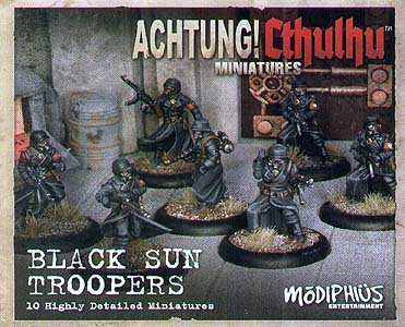 Spirit Games (Est. 1984) - Supplying role playing games (RPG), wargames rules, miniatures and scenery, new and traditional board and card games for the last 20 years sells Achtung! Cthulhu Skirmish: Black Sun Troopers