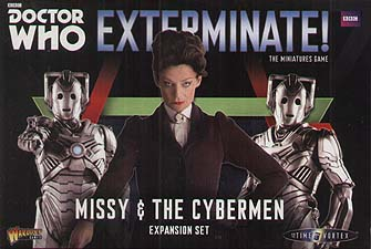 Spirit Games (Est. 1984) - Supplying role playing games (RPG), wargames rules, miniatures and scenery, new and traditional board and card games for the last 20 years sells Exterminate!: Missy and the Cybermen Expansion Set