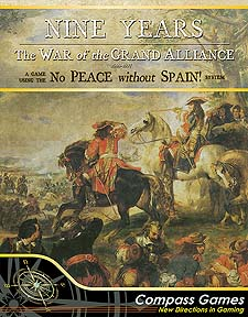 Spirit Games (Est. 1984) - Supplying role playing games (RPG), wargames rules, miniatures and scenery, new and traditional board and card games for the last 20 years sells Nine Years: The War of the Grand Alliance
