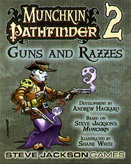 Spirit Games (Est. 1984) - Supplying role playing games (RPG), wargames rules, miniatures and scenery, new and traditional board and card games for the last 20 years sells Munchkin Pathfinder: Guns and Razzes
