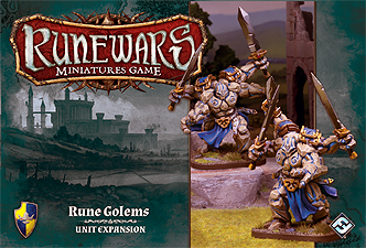 Spirit Games (Est. 1984) - Supplying role playing games (RPG), wargames rules, miniatures and scenery, new and traditional board and card games for the last 20 years sells Runewars Miniatures Game: Rune Golems Unit Expansion
