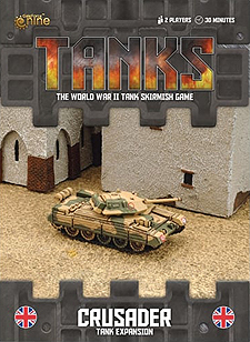 Spirit Games (Est. 1984) - Supplying role playing games (RPG), wargames rules, miniatures and scenery, new and traditional board and card games for the last 20 years sells Tanks: Crusader Expansion