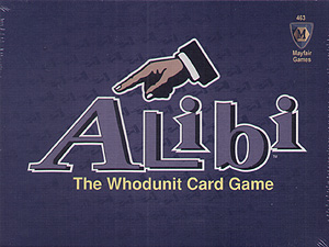 Spirit Games (Est. 1984) - Supplying role playing games (RPG), wargames rules, miniatures and scenery, new and traditional board and card games for the last 20 years sells Alibi: The Whodunit Card Game