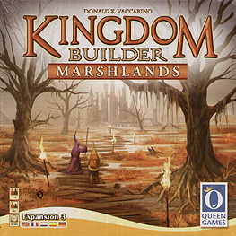 Spirit Games (Est. 1984) - Supplying role playing games (RPG), wargames rules, miniatures and scenery, new and traditional board and card games for the last 20 years sells Kingdom Builder: Marshlands