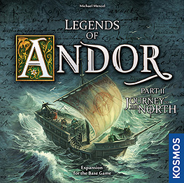 Spirit Games (Est. 1984) - Supplying role playing games (RPG), wargames rules, miniatures and scenery, new and traditional board and card games for the last 20 years sells Legends of Andor: Journey to the North