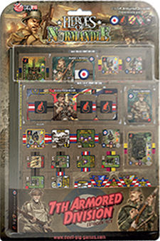 Spirit Games (Est. 1984) - Supplying role playing games (RPG), wargames rules, miniatures and scenery, new and traditional board and card games for the last 20 years sells Heroes of Normandie: 7th Armored Division UK Expansion Pack