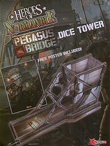 Spirit Games (Est. 1984) - Supplying role playing games (RPG), wargames rules, miniatures and scenery, new and traditional board and card games for the last 20 years sells Heroes of Normandie: Pegasus Bridge Dice Tower
