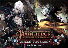 Spirit Games (Est. 1984) - Supplying role playing games (RPG), wargames rules, miniatures and scenery, new and traditional board and card games for the last 20 years sells Pathfinder Adventure Card Game: Magus Class Deck