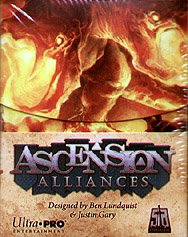 Spirit Games (Est. 1984) - Supplying role playing games (RPG), wargames rules, miniatures and scenery, new and traditional board and card games for the last 20 years sells Ascension: Alliances