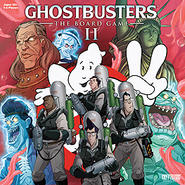 Spirit Games (Est. 1984) - Supplying role playing games (RPG), wargames rules, miniatures and scenery, new and traditional board and card games for the last 20 years sells Ghostbusters: The Board Game II