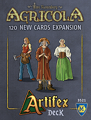 Spirit Games (Est. 1984) - Supplying role playing games (RPG), wargames rules, miniatures and scenery, new and traditional board and card games for the last 20 years sells Agricola Revised Edition: Artifex Deck