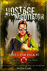 Spirit Games (Est. 1984) - Supplying role playing games (RPG), wargames rules, miniatures and scenery, new and traditional board and card games for the last 20 years sells Hostage Negotiator: Abductor Pack #7