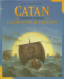 Spirit Games (Est. 1984) - Supplying role playing games (RPG), wargames rules, miniatures and scenery, new and traditional board and card games for the last 20 years sells Catan Seafarers Scenario: Legend of the Sea Robbers