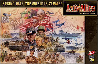 Spirit Games (Est. 1984) - Supplying role playing games (RPG), wargames rules, miniatures and scenery, new and traditional board and card games for the last 20 years sells Axis and Allies Anniversary Edition