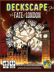 Spirit Games (Est. 1984) - Supplying role playing games (RPG), wargames rules, miniatures and scenery, new and traditional board and card games for the last 20 years sells Deckscape: The Fate of London