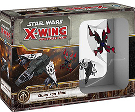 Spirit Games (Est. 1984) - Supplying role playing games (RPG), wargames rules, miniatures and scenery, new and traditional board and card games for the last 20 years sells Star Wars: X-Wing Miniatures Game Guns for Hire Expansion Pack