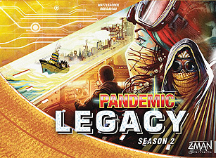Spirit Games (Est. 1984) - Supplying role playing games (RPG), wargames rules, miniatures and scenery, new and traditional board and card games for the last 20 years sells Pandemic Legacy Season 2 Yellow Box
