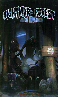 Spirit Games (Est. 1984) - Supplying role playing games (RPG), wargames rules, miniatures and scenery, new and traditional board and card games for the last 20 years sells Nightmare Forest: Alien Invasion