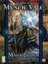 Spirit Games (Est. 1984) - Supplying role playing games (RPG), wargames rules, miniatures and scenery, new and traditional board and card games for the last 20 years sells Mystic Vale: Mana Storm Expansion