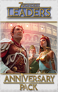 Spirit Games (Est. 1984) - Supplying role playing games (RPG), wargames rules, miniatures and scenery, new and traditional board and card games for the last 20 years sells 7 Wonders: Leaders Anniversary Pack