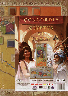 Spirit Games (Est. 1984) - Supplying role playing games (RPG), wargames rules, miniatures and scenery, new and traditional board and card games for the last 20 years sells Concordia: Aegyptus/Creta